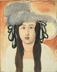 "Matisse's ""The Plumed Hat"" (1919), Courtesy National Gallery of Art, Washington, DC"