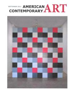 American Contemporary Art Magazine, September 2011