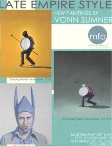 "Vonn Sumner's Exhibition ""Late Empire Style"""