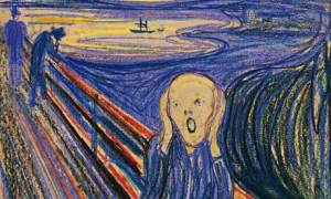 The only privately owned version of Edvard Munch's The Scream is to be sold at auction in New York. Click on the image to see the full version. Photograph: Reuters