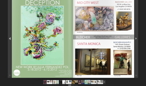 Deception in American Contemporary Art Magazine!
