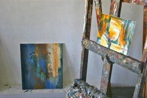 Andrei Petrov's studio shot 2, NYC, 2012