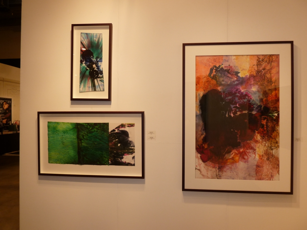 Watercolor art galleries in houston - Maya Freelon Asante S Here And There Flesh Of My Flesh And Boom