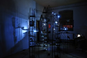 "Jason Sho Green's ""Wanderlust"" by night"