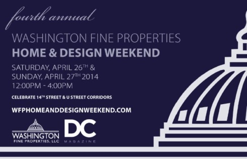 washington properties design weekend 2014 promo