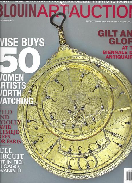 Blouin Art and Auction web