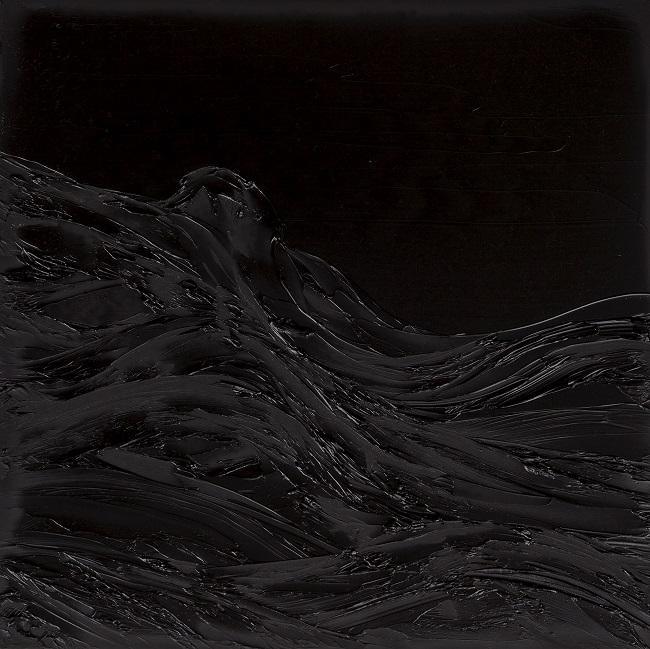 "Charles Williams, Nighttime Study 12, 12""x12"", oil on panel"