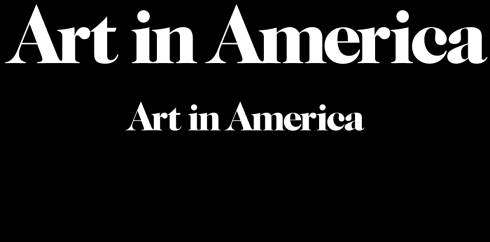art in america logo